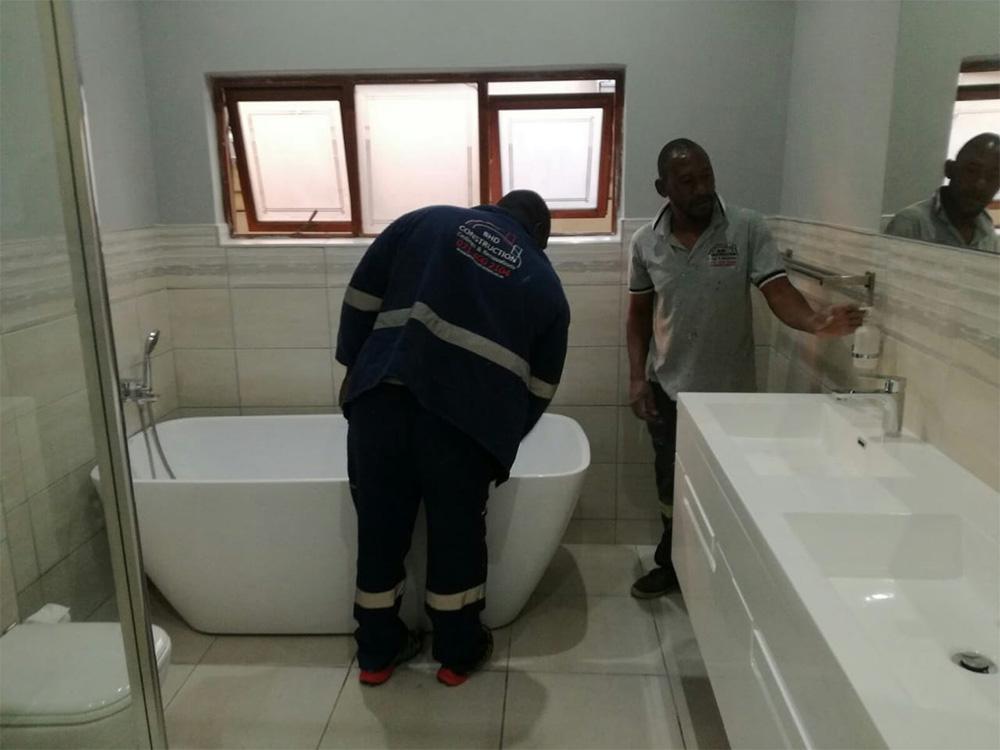 Bathroom Renovation Plumbing Bhd Construction